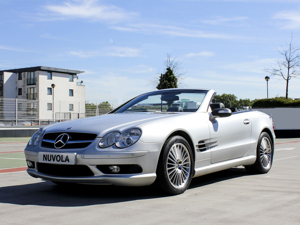 mercedes benz sl55 amg kompressor v8 2dr convertible nuvola london. Black Bedroom Furniture Sets. Home Design Ideas